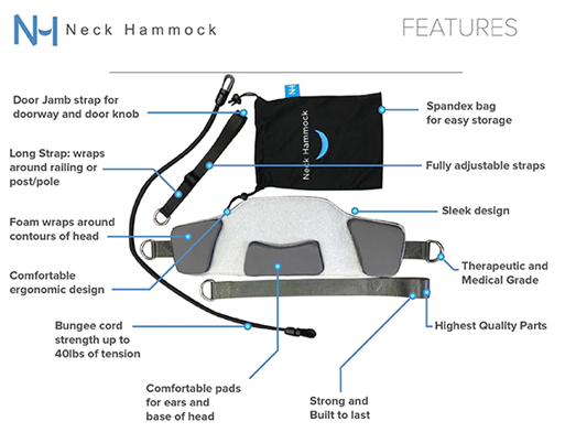 Neck hammock Main Features