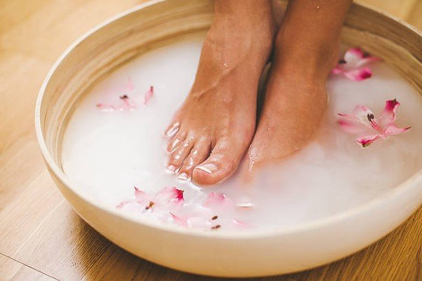 Start with Footbath